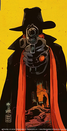 The Shadow by Francesco Francavilla