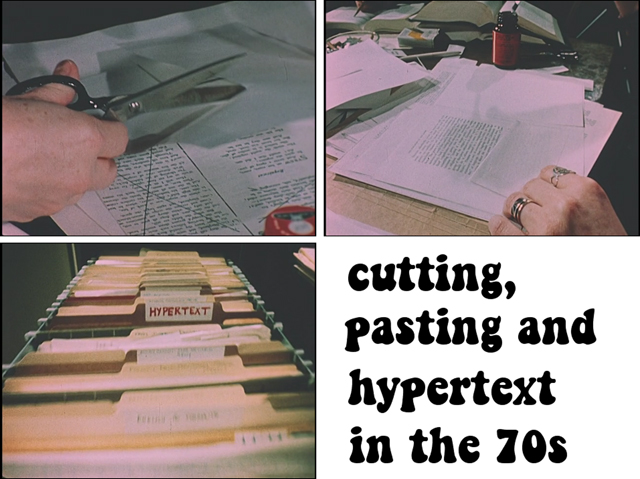 hypertext in the 70s